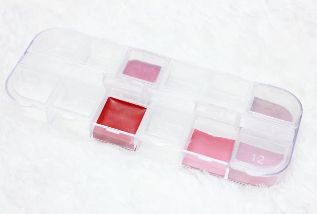 lipstick palette maken