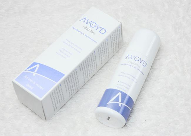 scheerirritaties crème Avoyd