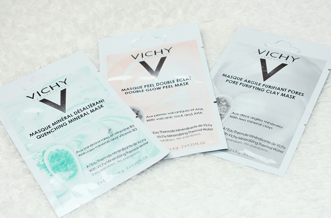 Vichy Minerale Maskers