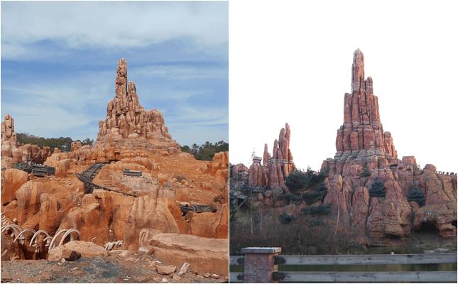 verschillen tussen Disneyland Parijs en Magic Kingdom