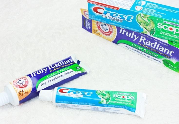 Amerikaanse tandpasta