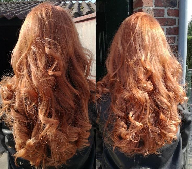 rood haar onderhouden
