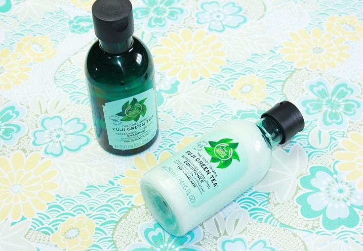 The Body Shop Fuji Green Tea Shampoo