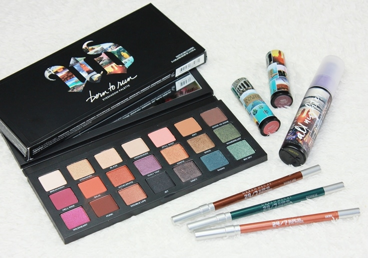 Urban Decay Born To Run collectie