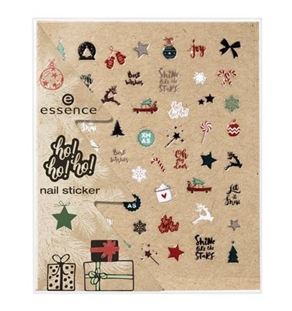 Essence ho!ho!ho! kerstcollectie nail stickers