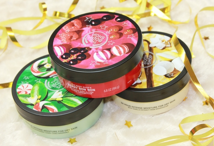 The Body Shop Kerst Body Butters