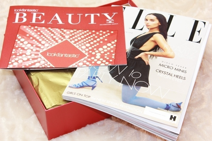Lookfantastic December Beauty Box