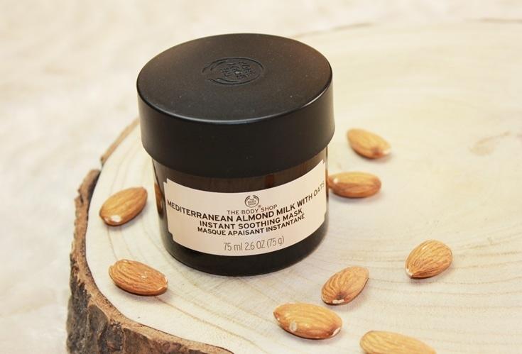 The Body Shop Mediterranean Almond Milk mask