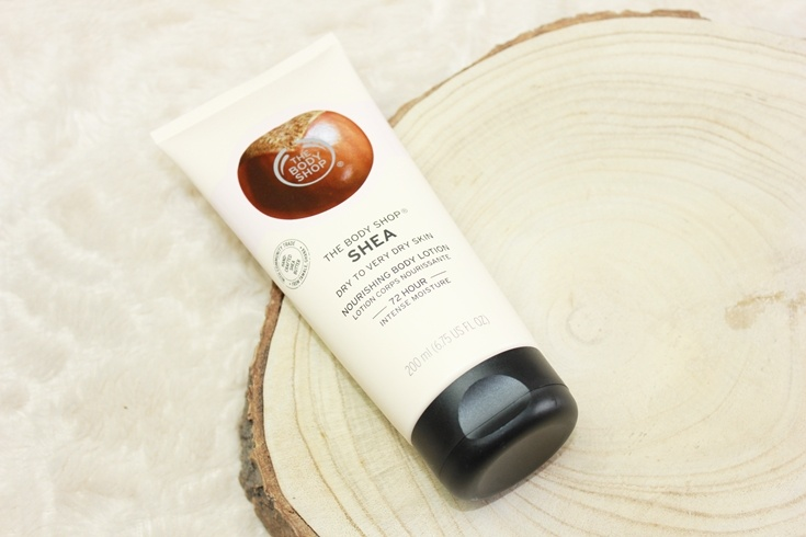 The Body Shop Shea Body Lotion nieuw