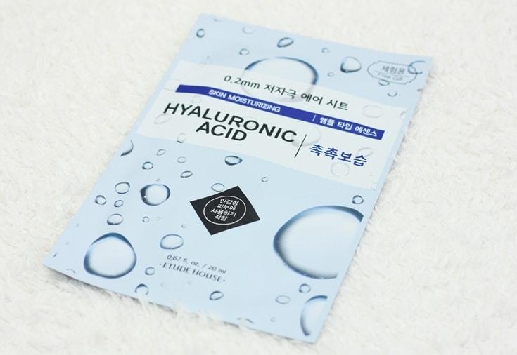 Etude House sheet mask Hyaluronic Acid