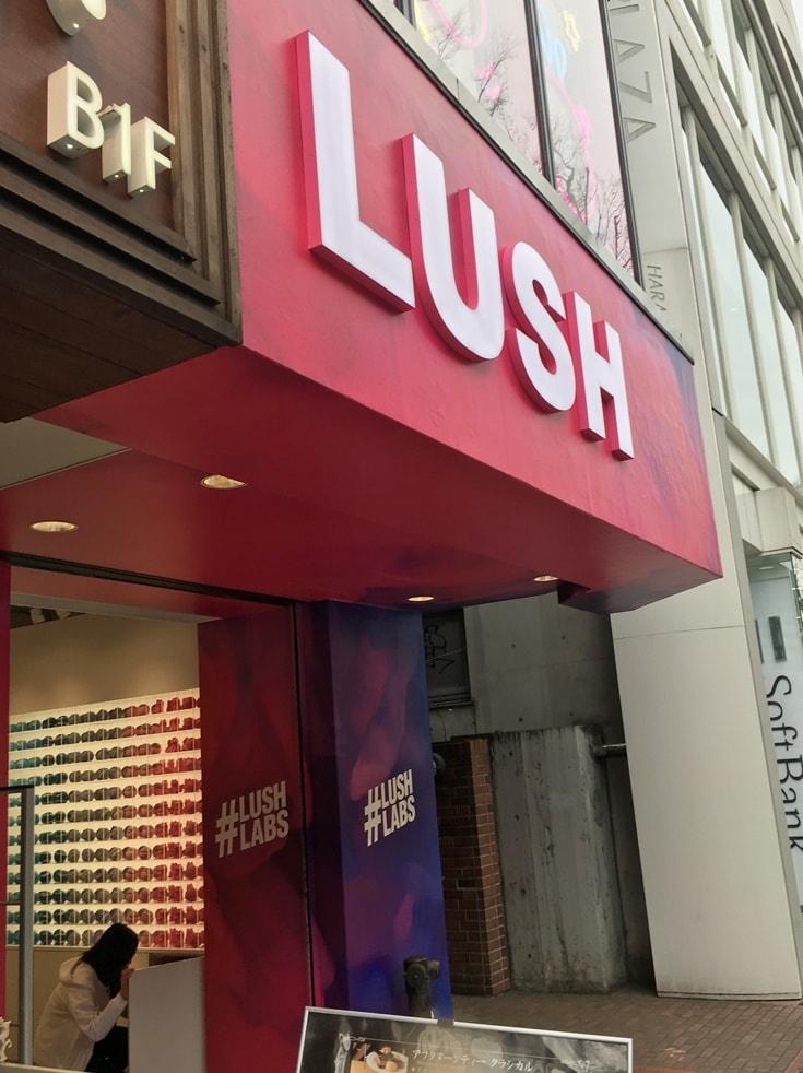 Lush Harajuku bath bombs