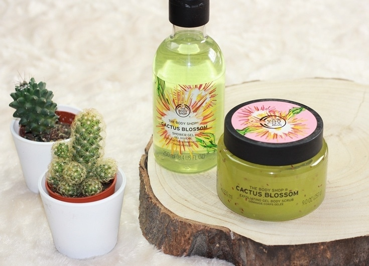 The Body Shop Cactus Blossom collectie