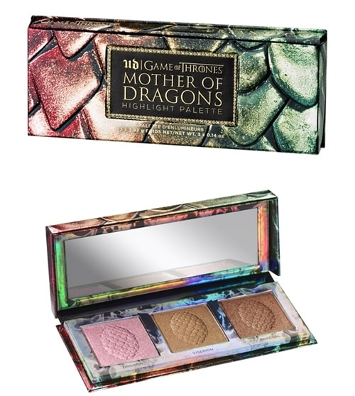 Urban Decay Game of Thrones mother of dragons