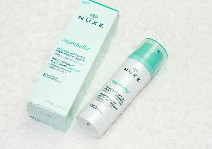 Nuxe Aquabella hydraterende emulsie review