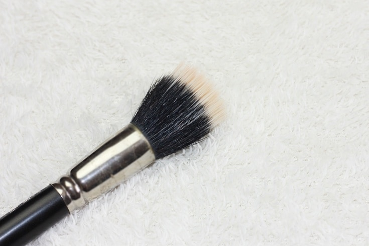 duo fibre brush MAC Cosmetics #186 brush
