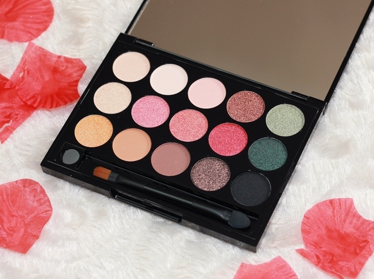 Only You Wildflower Wild Daisy palette oogschaduw review