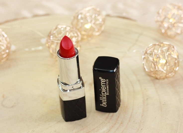 Bellapierre Cosmetics Ruby lipstick review
