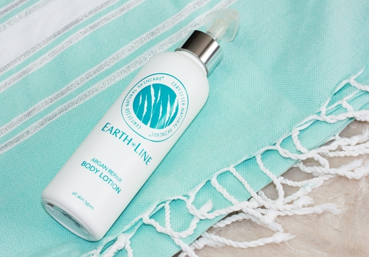 Earth Line Argan Repair body lotion vegan natural skincare