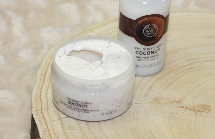 The Body Shop Coconut scrub review