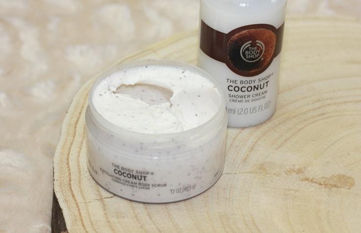 The Body Shop Coconut scrub review