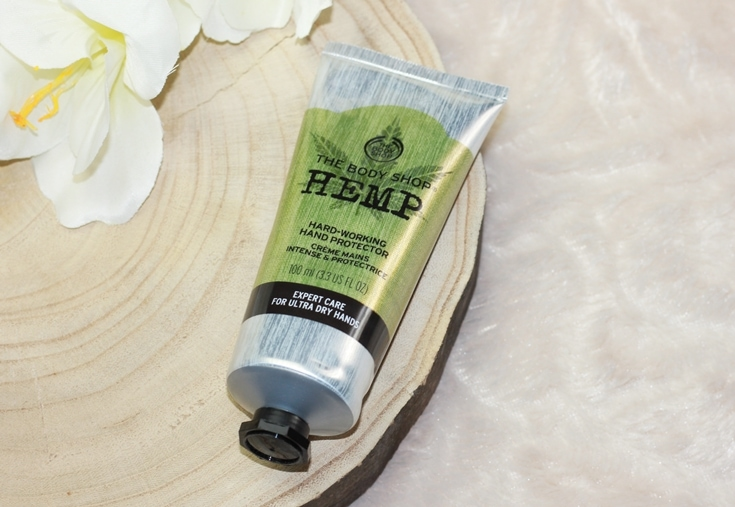 een foto van de The Body Shop Hemp hand cream