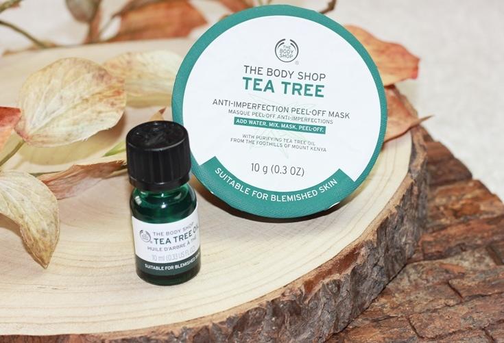 The Body Shop Tea Tree producten overzicht