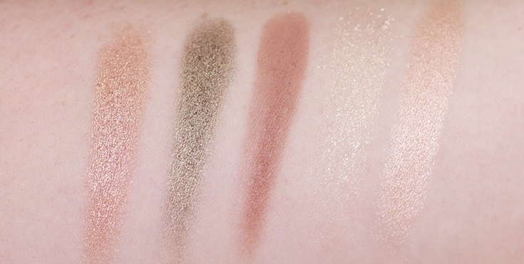 Essence Witch Side Eyeshadow swatches oogschaduw