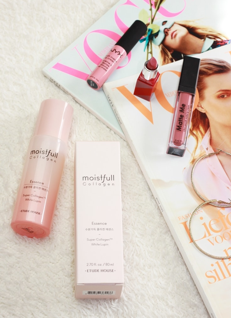 Etude House Moistfull Collagen Essence review