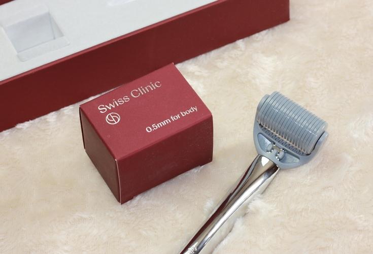 Swiss Clinic Skin Roller microneedling