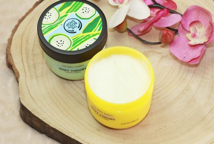 The Body Shop Body Yogurt Lemon en Cucumber