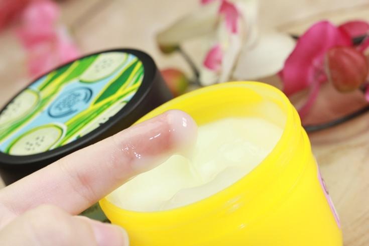 The Body Shop Body Yogurt textuur